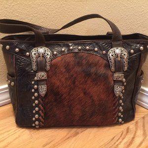 American West Tooled Western Bag